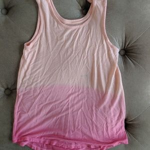 Girls Justice pink tank top